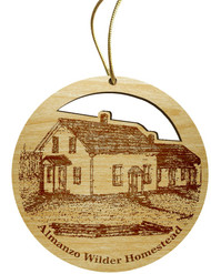 Woodcut Wilder Home ornament