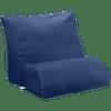 Navy blue flip pillow cover