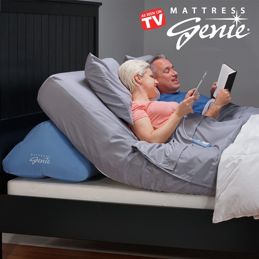 mattress genie allows you to adjust the elevation of bed for a more comfortable nights sleep