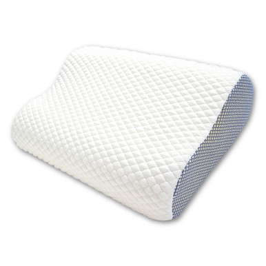 Premium Cool To The Touch Contoured Pillow Case Perfect For Hot Sleepers