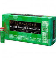 Peking Royal Jelly 2000mg/Ginseng 1000mg 30x10ml vials
