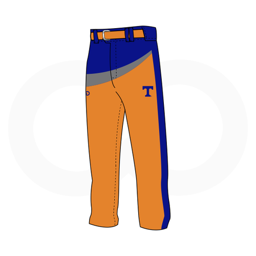 Tolsia Rebels Away Baseball Pants
