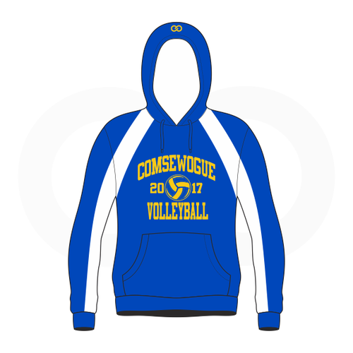 Wogue Warriors Volleyball Sublimated Hoodie