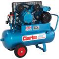 CLARKE AIR COMPRESSOR 230V 3HP 14CFM 50 Ltr PORTABLE 2092800