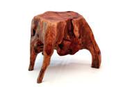 Carved Stool - Medium