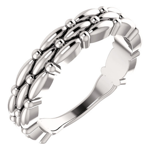 14kt Gold Multi-Row Stackable Ring