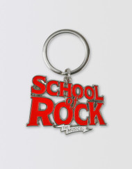 SCHOOL OF ROCK Logo Keyring