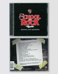 SCHOOL OF ROCK Broadway Cast Recording CD