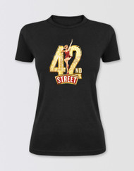 42nd Street Fitted Glitter T-Shirt