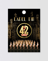 42nd Street Lapel Pin