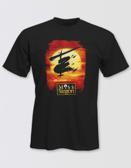 Miss Saigon Unisex Black Logo T-Shirt