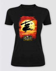 Miss Saigon Ladies Black Logo T-Shirt