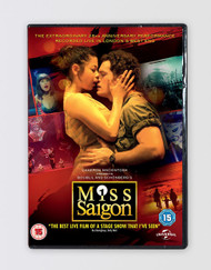 Miss Saigon Live Concert & The Heat is On Documentary DVD (2 discs)