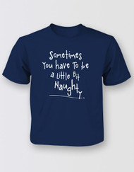 Matilda The Musical Naughty T-Shirt - Kids