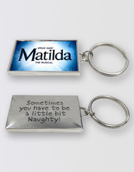 Matilda The Musical  Logo Keyring