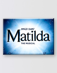 Matilda The Musical  Magnet - Logo