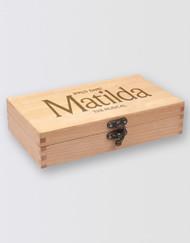 Matilda The Musical  Wooden Pencil Case