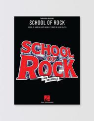 SCHOOL OF ROCK Songbook