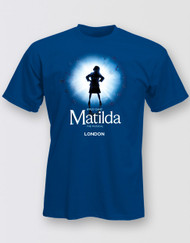 Matilda The Musical LONDON Graphic Logo T-Shirt - Adults