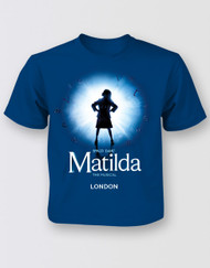 Matilda The Musical LONDON Graphic Logo T-Shirt - Kids