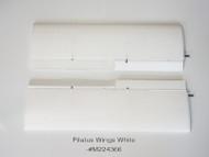 PILATUS PC-6 WINGS - WHITE