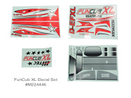 FUNCUB XL DECAL SHEET