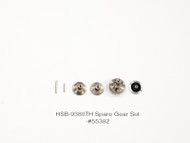 HSB-9380 TITANIUM GEAR SET