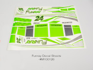 FUNRAY DECAL SET