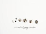 HS-7955 TITANIUM GEAR SET