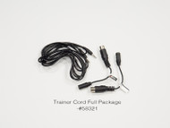 HITEC TRAINER CORD W/ DIN JACK ADAPTER