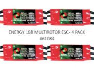 ENERGY 18R MULTIROTOR ESC (4 PACK)
