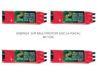 ENERGY 30R MULTIROTOR ESC (4 PACK)