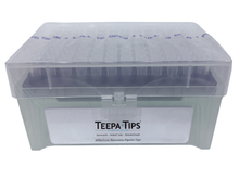 Teepa™  pipette tip 200uL Racked, Sterile, Graduated, NoStick®, 5 packs of 960 (4800 tips)