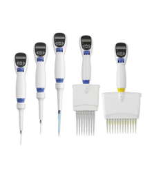 Labnet Excel™ Electronic Pipette  1 to 10ul, 8 channel, with charger