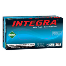 INTEGRA® Nitrile Powder-Free Exam Gloves, 50/bx, 500/CS - 2XLarge