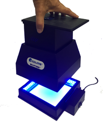 Use with base, or separate with your current UV/Blue LED transilluminator