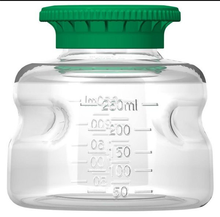 250ml PETG Media Bottle, Non-Sterile, 24/CS