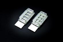 Cell Culture Chamber Slide, 4 Wells, PS/Glass Slide, Sterile, 12/Case