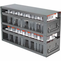 Laboratory Freezer Rack UFD-XLT15-2 for 208 15mL conical tubes