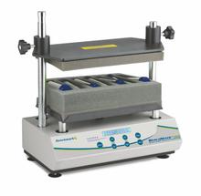 The Benchmark Scientific QuEChERS vortex mixer for sample preparation
