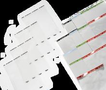 85 μm Clear Sealing Foil for microplates, 100/PK