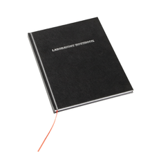 Laboratory Notebook, 100-pages, Lined, Black -Each