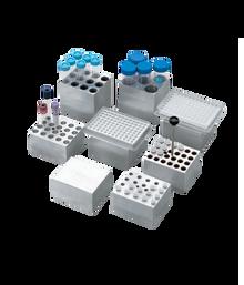 Dry Bath Block,  6 x 25mm tubes for the Labnet AccuBlock™ Digital Dry Bath, 1/EA