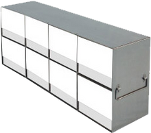Laboratory Freezer Rack for Upright Freezers - for 15 and 50mL Tube Boxes - UFLB-42