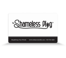 Shameless Plug™ Qi Charger for Smartphones by Stellar Scientific