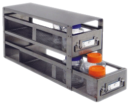 Stainless Steel Freezer Rack with Drawers for Storage Bottles - UFD-XLB-2