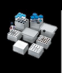 Dry Bath Block 20 x 13 mm tubes for the Labnet AccuBlock™ Digital Dry Bath, 1/EA