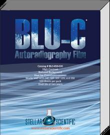 Blu-C Autoradiography Film 5x7, 100 Sheets per box