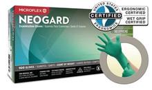NEOGARD® Chloroprene Exam Gloves, Small, 100/box, 1000/CS