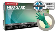 NEOGARD® Chloroprene Exam Gloves, Large, 100/box, 1000/CS